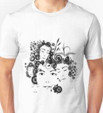 Faces T-shirt Unisex T-Shirt