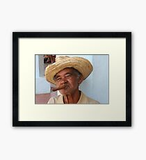 Cuban Man Framed Print