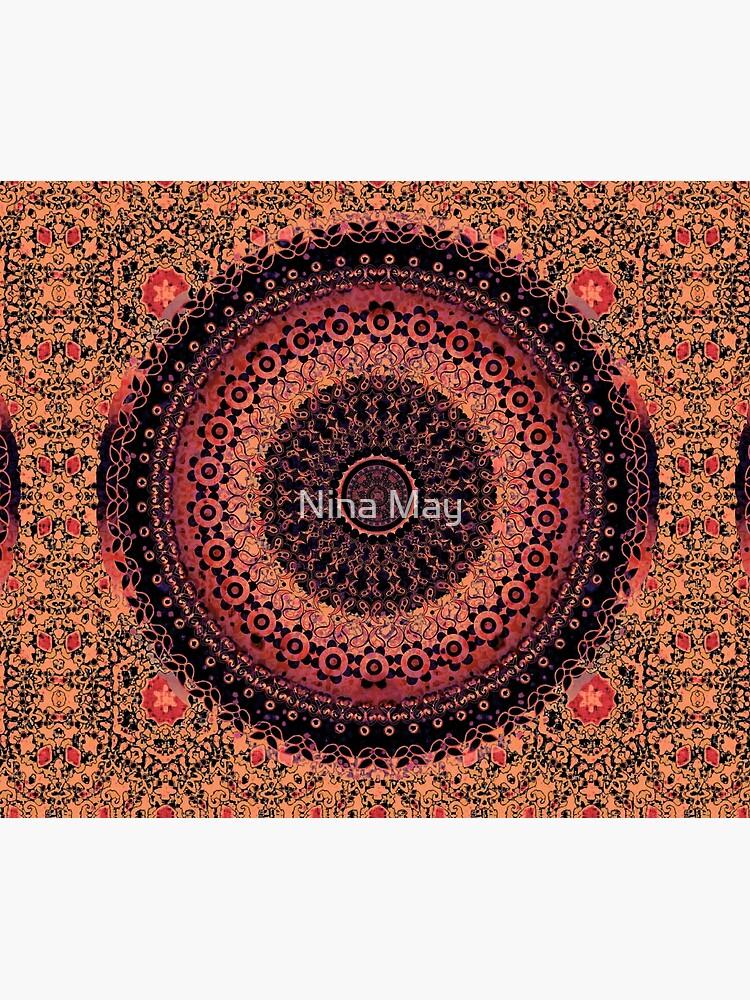 Spice Tapestry Mandala by ninabmay