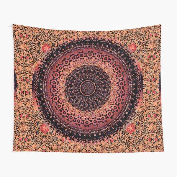 Spice Tapestry Mandala Tapestry