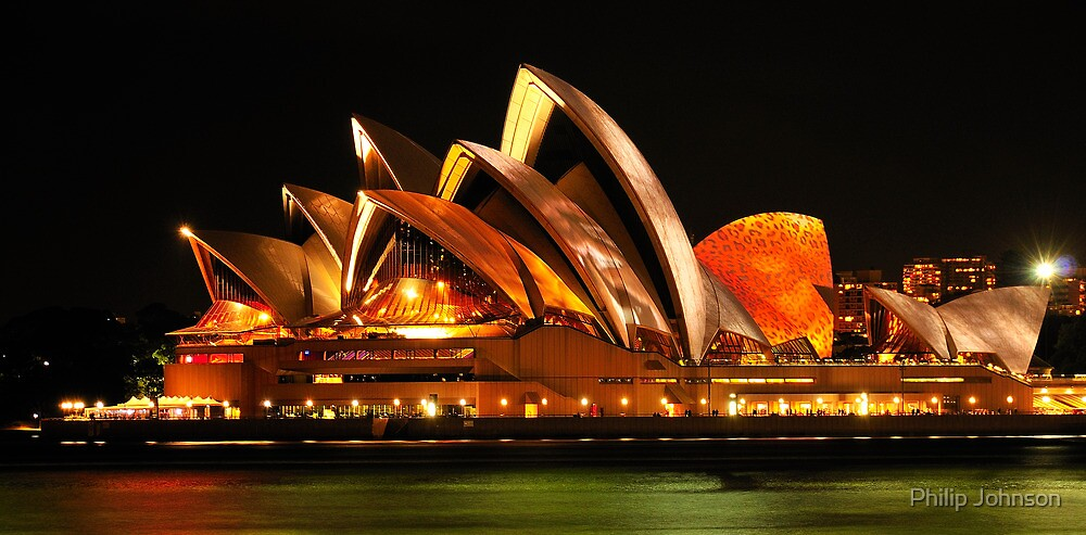 Vivid Sydney #3- Sydney Opera House - The HDR Experience by Philip Johnson