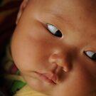 Hmong Baby ~ Vietnam by Judi Corrigan
