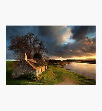 Kercock Bothy - River Tay - Perthshire Photographic Print