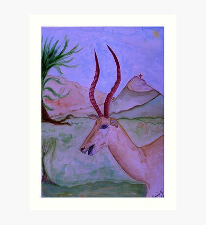 """Antelope"" Art Print"