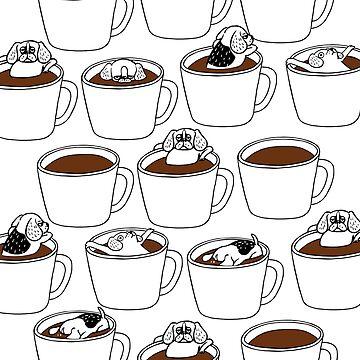 Más café beagle de Huebucket