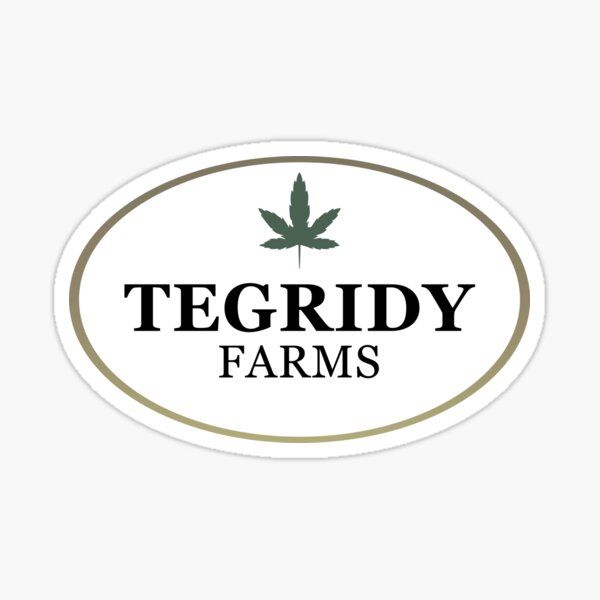 Tegridy Farms Sticker