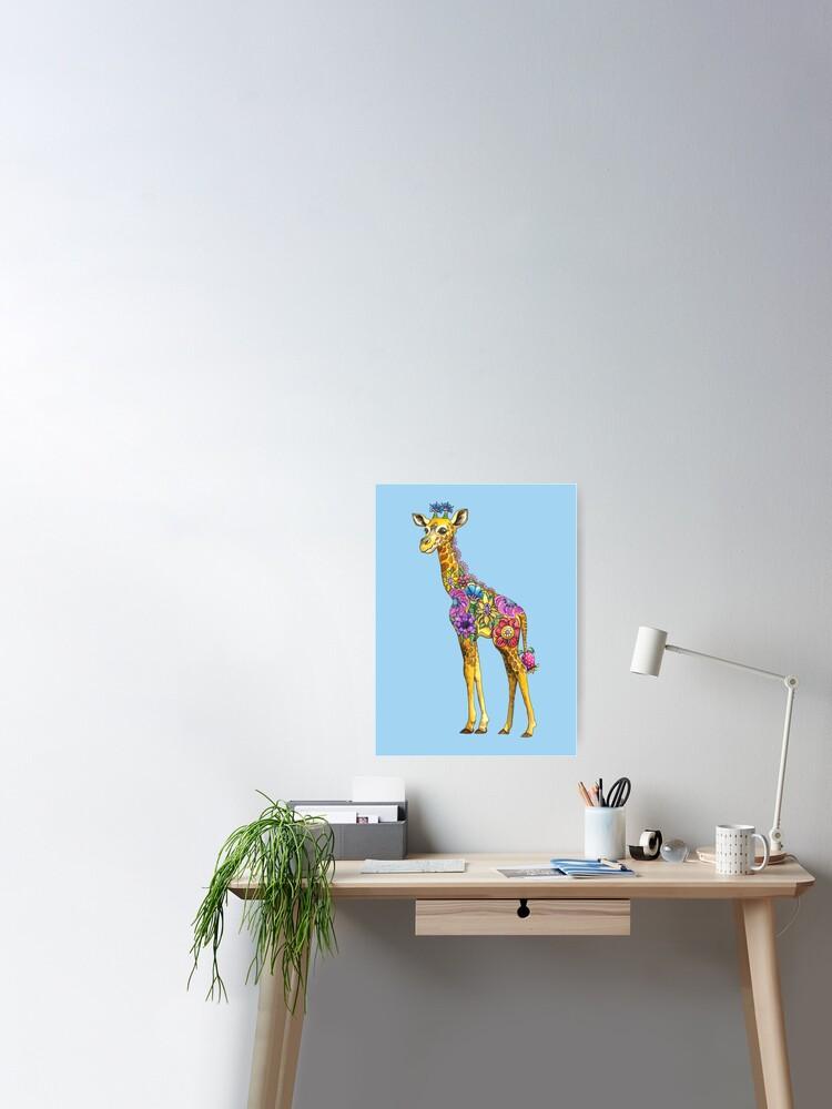 Geraldine Giraffe Table Lamp
