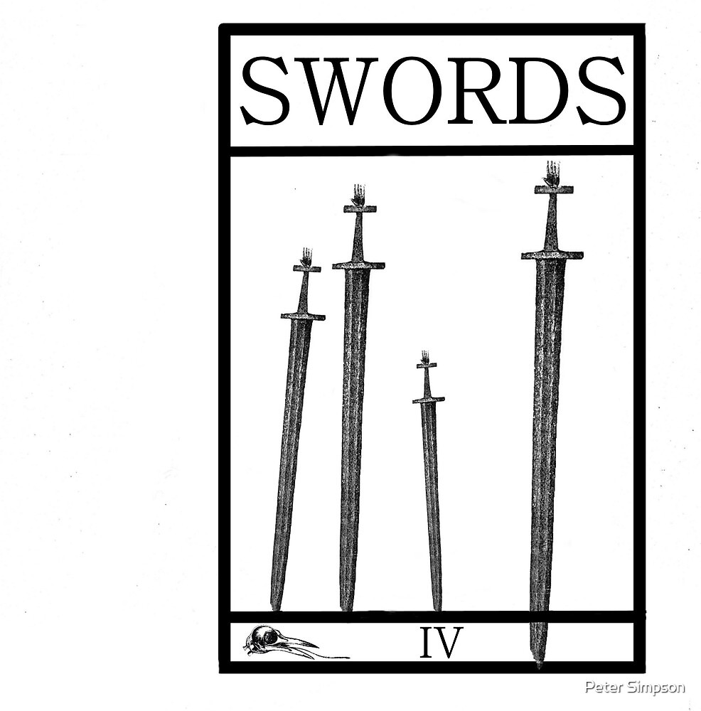 4 of Swords by Peter Simpson