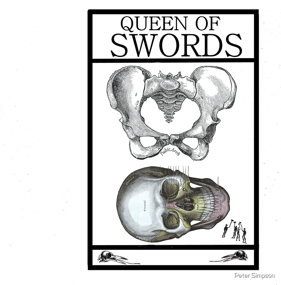 Queen of Swords by Peter Simpson