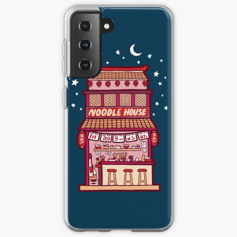 Noodle House at Night Case & Skin for Samsung Galaxy
