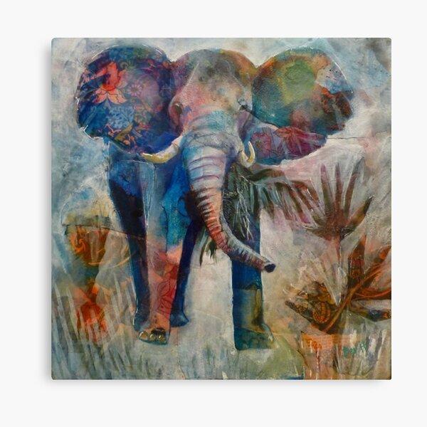 Ivory Majesty Canvas Print