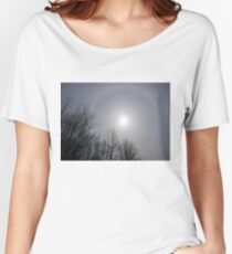 Sun Halo Through the Trees Women's Relaxed Fit T-Shirt