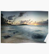 Cook Islands Sunrise Poster