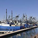 So Very Blue - Prawn Fishing Boats by chijude