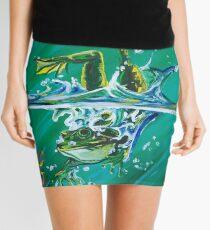 Frog Splash #2 Mini Skirt