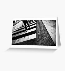 ZEBRA | crossing Greeting Card