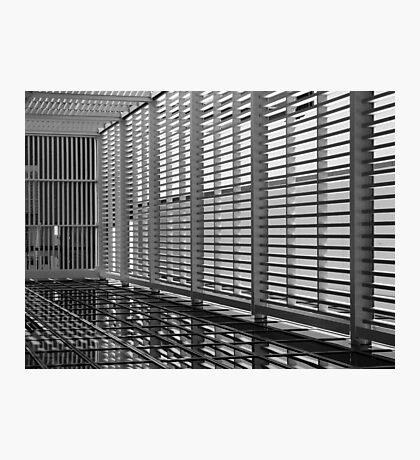 Caged In - CBD, Perth, Western Australia Photographic Print