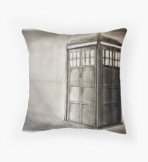 Take a Trip with a Mad Spaceman Throw Pillow