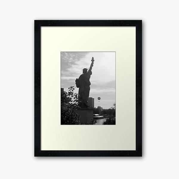 Liberty baloon  Framed Art Print