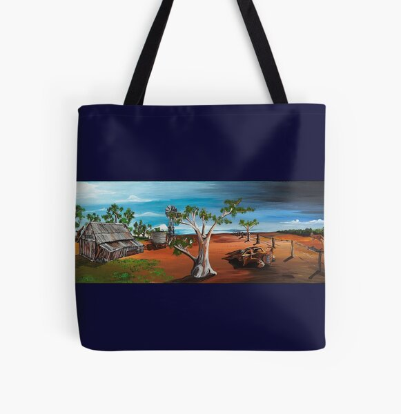 Country Victoria All Over Print Tote Bag