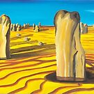 Pinnacles - W.A. by Kim Donald