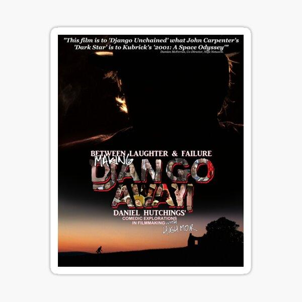 Making Django Away! - Book Cover Sticker Sticker