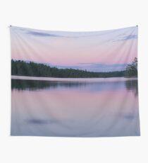 Boundary Waters Lake Sunset Wall Tapestry