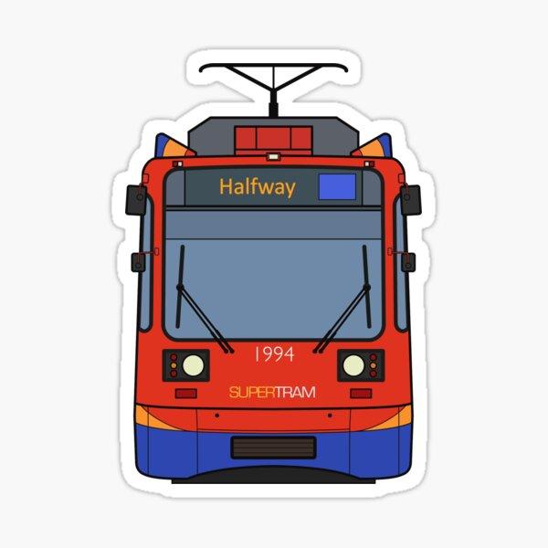 Sheffield Tram Sticker