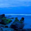 Low Tide in Blue by oastudios