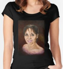 Self Portrait Oct 2011 Women's Fitted Scoop T-Shirt