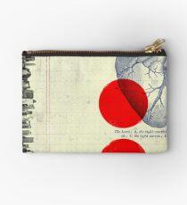 Bolso de mano Corazón 01 - Collage Abstracto Moderno