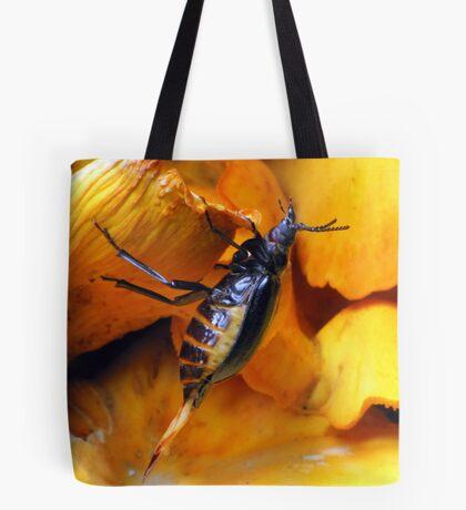Beetle With Ovipositor Tote Bag