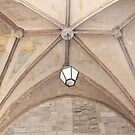 Ceiling in Narbonne, France by Katherine Clarke