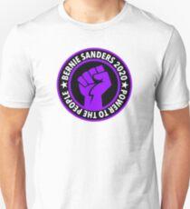 Bernie 2020 Macht für die Menschen Slim Fit T-Shirt