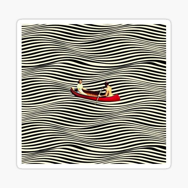 Illusionary Boat Ride Sticker