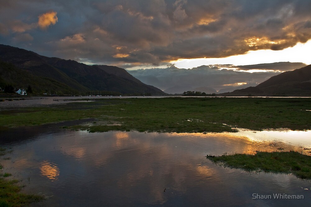 Storm clouds over Loch Leven by Shaun Whiteman