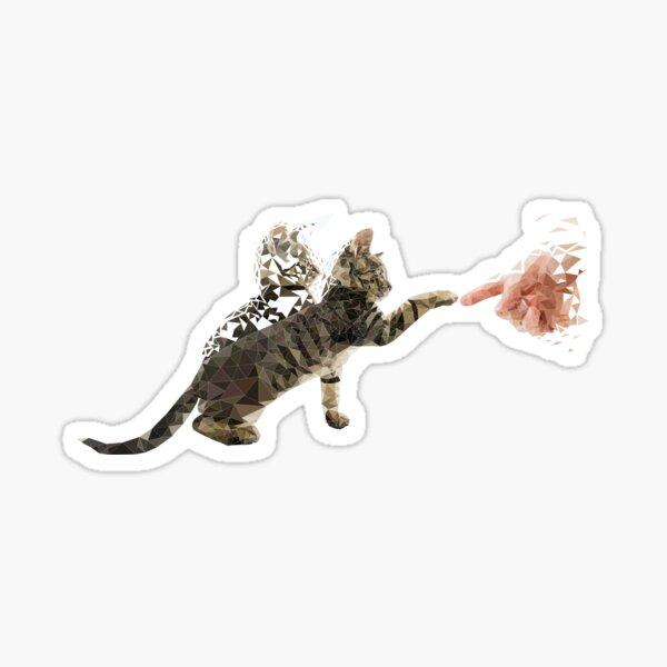 Time Cat Sticker