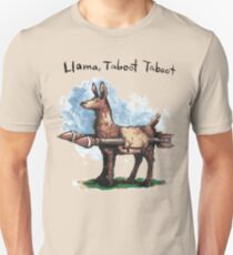 Llama, Taboot Taboot Slim Fit T-Shirt
