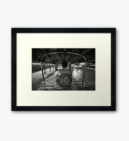 Tuk-tuk Framed Print