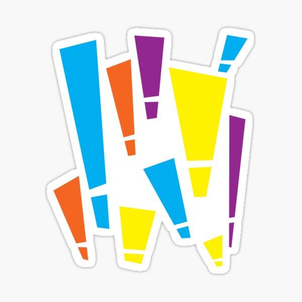 EXCLA! Version 2 Sticker