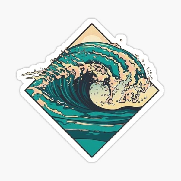 Welle Sticker
