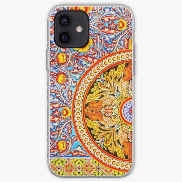 Buddhist Temple Painting Coque souple iPhone