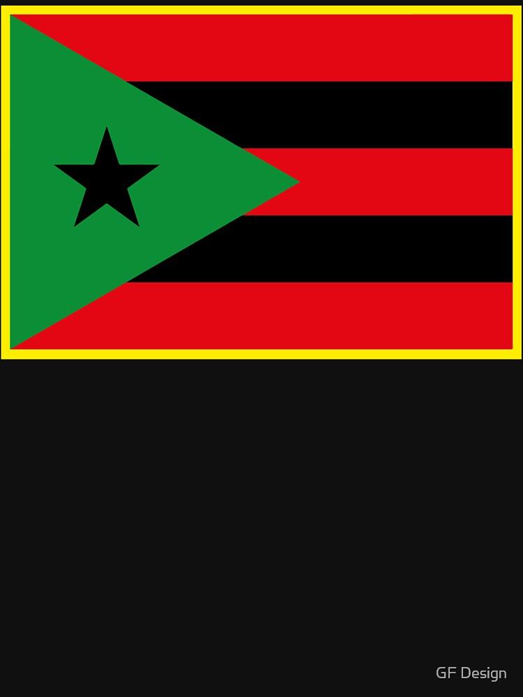 Bandera afro puertorriqueña de viixiigfl