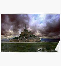 Le Mont St Michel I Poster