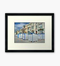 Wimereux Promenade Framed Print
