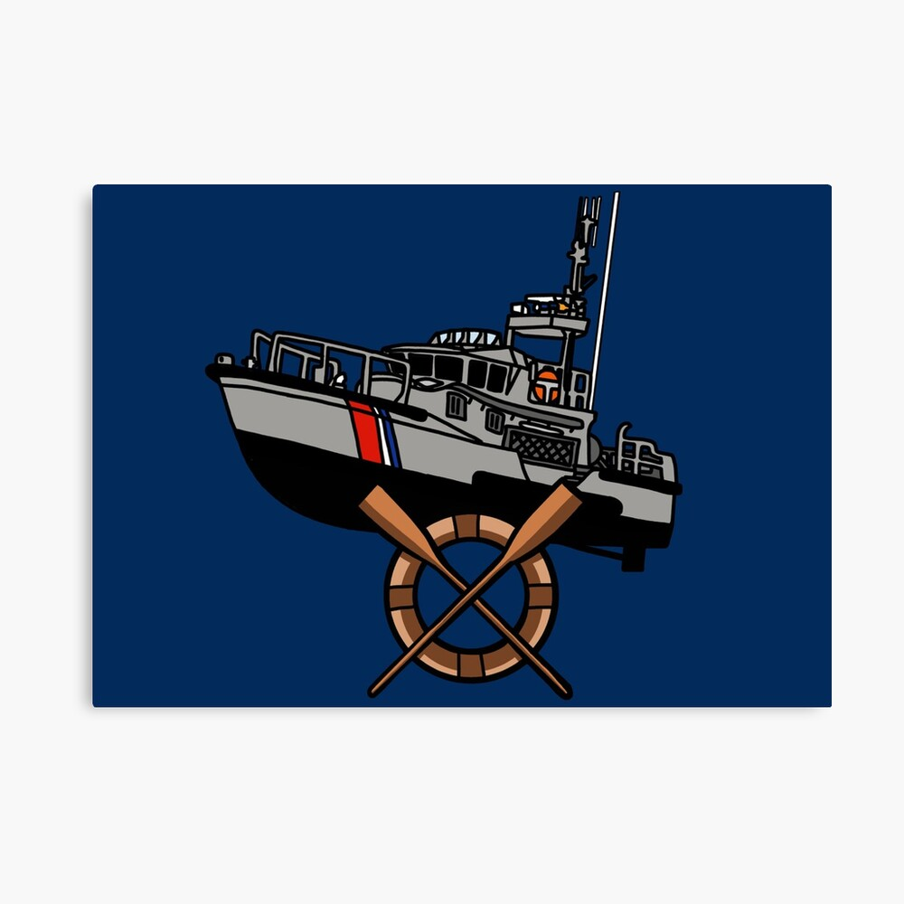 Coast Guard Surfman 47 MLB Canvas Print