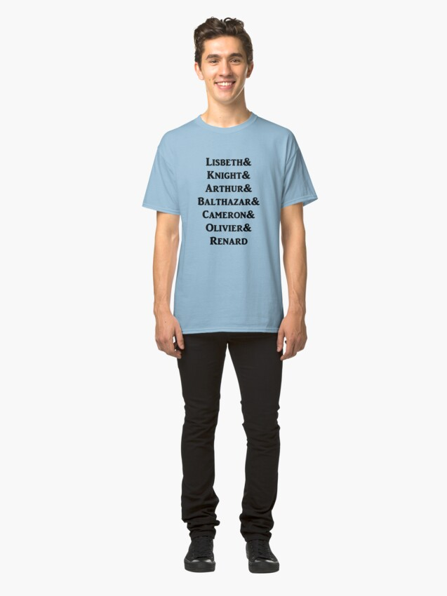 Alternate view of Born Vampire characters Classic T-Shirt