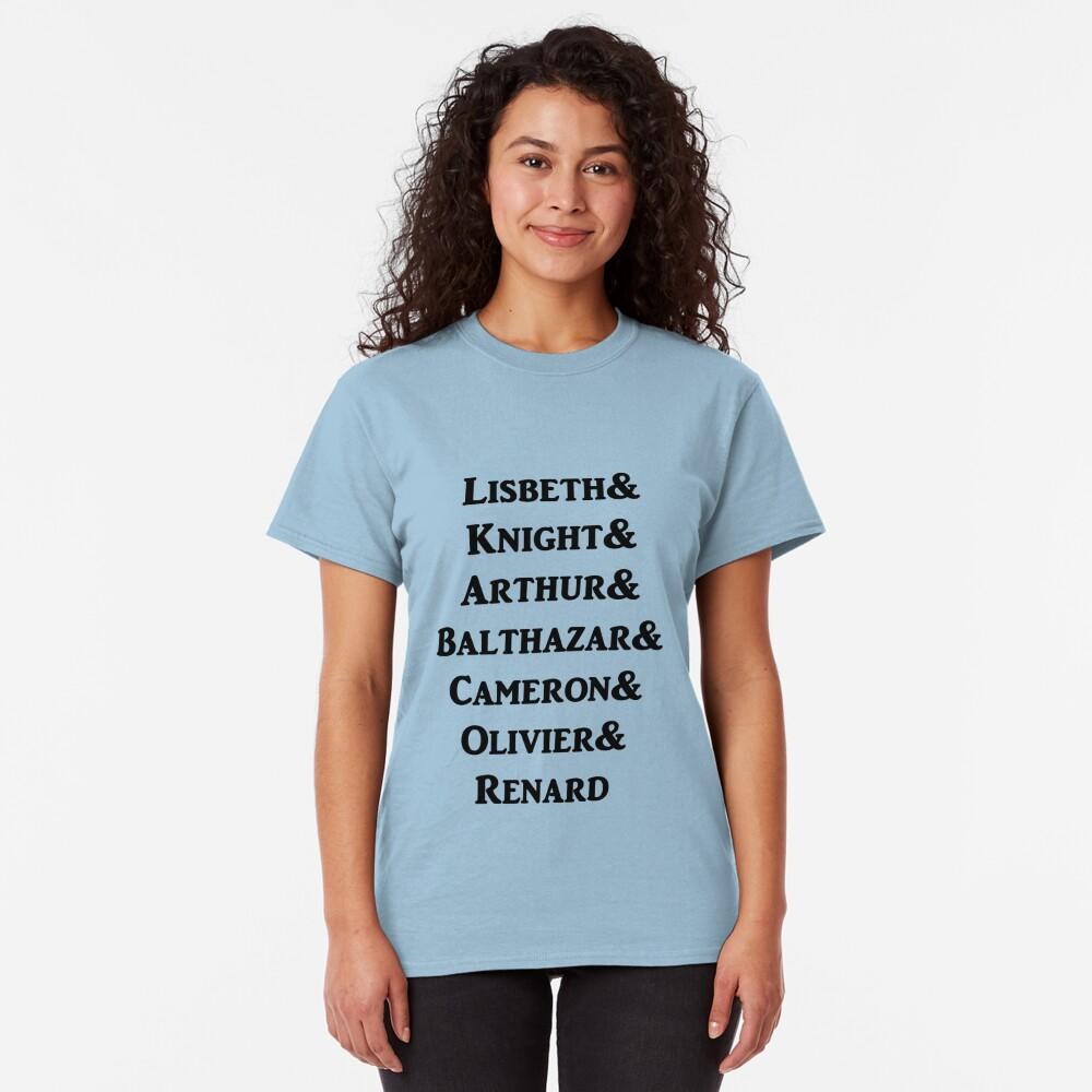 Born Vampire characters Classic T-Shirt