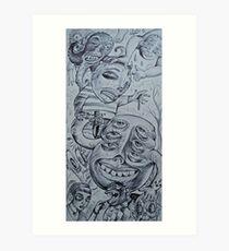 acedia(sloth)/diligence Art Print