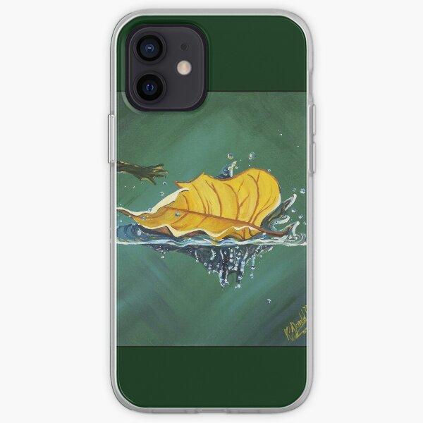 Floating Leaf iPhone Soft Case